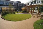 Hospital Communal Garden Hard and Soft Landscaping