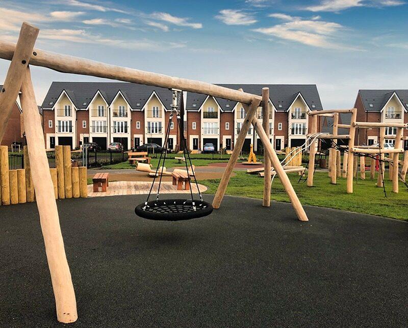 idverde housebuilder play area design and installation